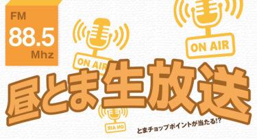 昼とま生放送第1回 とまチョップポイントが当たる!?
